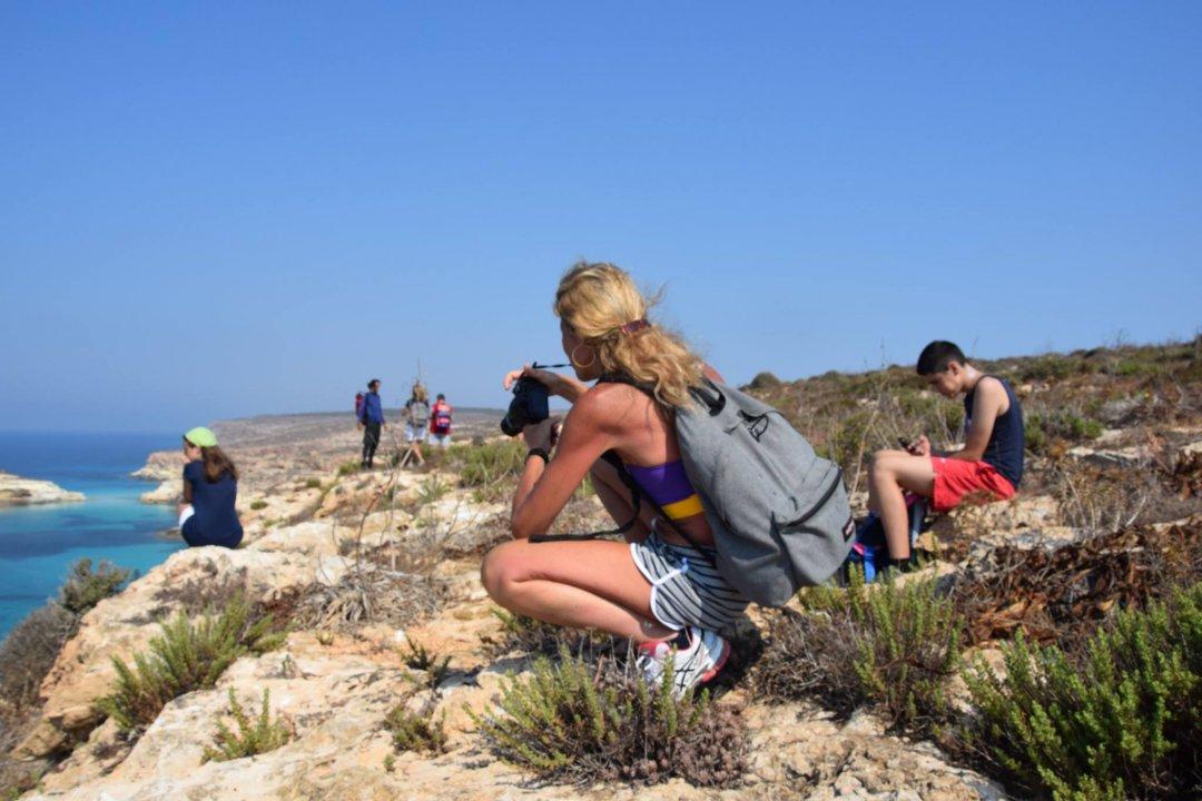 Lampedusa bene&Benessere: Camminare un nuovo modo di viaggiare, scoprire, amare se stessi, gli altri  e ciò che ci circonda...equilibrio...