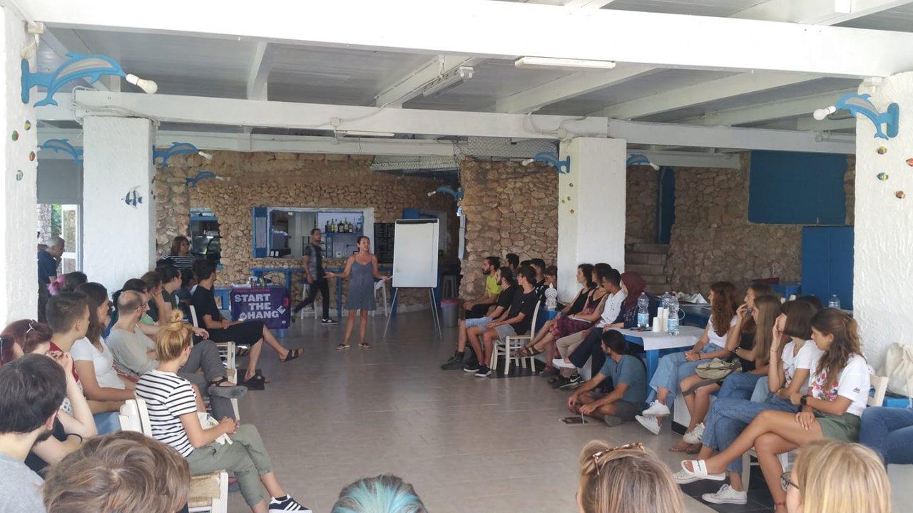 """Tutto il mondo in un isola sola Lampedusa Villaggio la Roccia ospita progetto mlal in: """"Start the change"""""""